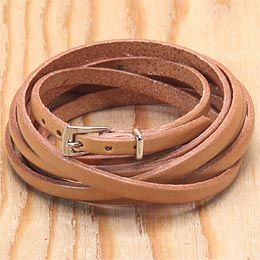 KC,s ケイシイズ ブレスレット スモール バックル ロング エイト 牛皮革 ブレスレット KC,s leather craft ケーシーズ 本革 ブランド [メーカー取り寄せ/在庫未確定商品][メール便可(200円)][優れものA]