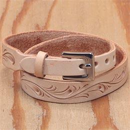 KC,s ケイシイズ ブレスレット カービング ロング ブレス メンズ 牛皮革 ブレスレット KC,s leather craft ケーシーズ 本革 ブランド [メーカー取り寄せ/在庫未確定商品][メール便可(200円)][優れものA]