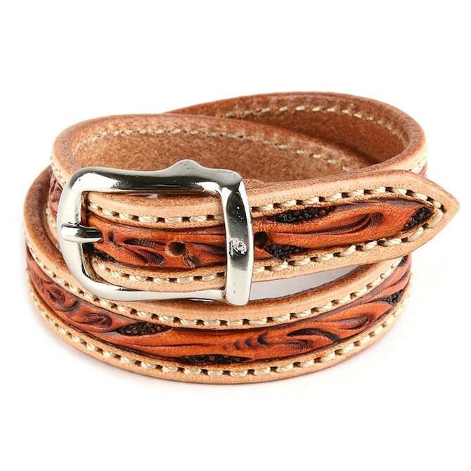 KC,s ケイシイズ ブレスレット ブライドル ロング クラフトデラックス 牛皮革 ブレスレット KC,s leather craft ケーシーズ 本革 ブランド [メーカー取り寄せ/在庫未確定商品][優れものA]