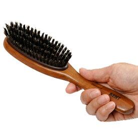 ヘアーブラシ KENT ケント 豚毛ヘアーブラシ KNH-2624 大 ふつう M 女性用 レディース Hair brush [優れものA]