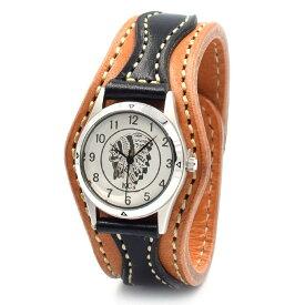 KC,s ケイシイズ 時計 ウォッチブレス アローヘッド カウハイド 牛革 栃木レザー KIR521 腕時計 ブレスレットウォッチ 革ベルト メンズ レディース KC'S ケイシーズ ケーシーズ 本革 ブランド [メーカー取り寄せ商品][優れものA]