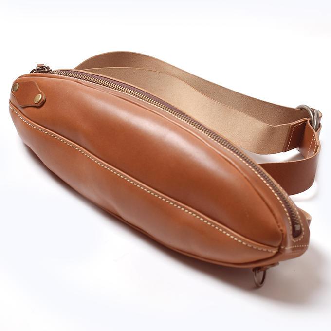 KC,s ケイシイズ ショルダーポーチ オーバル 栃木レザー ポーチ バッグ ショルダーバッグ ウエストポーチ ウエポ 小物入れ 旅行 斜めがけ KC,s leather craft ケーシーズ 本革 ブランド [メーカー取り寄せ商品][優れものA]
