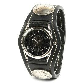 KC,s ケイシイズ 時計 スリーコンチョ ウォッチブレス コードバン 馬臀部革 馬革 KSR505 腕時計 ブレスレットウォッチ 革ベルト メンズ レディース KC'S ケイシーズ ケーシーズ 本革 ブランド [メーカー取り寄せ商品][優れものA]
