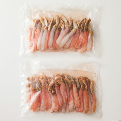 カニの刺身やしゃぶしゃぶを豪華に贅沢にお召し上がり下さい!生ズワイガニなので、旨味がしっかり詰まっています!鍋にも最適!刺身はポン酢などお好みで!送料無料