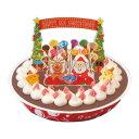 【12月10日18:00受付〆切 代引不可】ブルーシールクリスマス チョコレートアイスケーキ【ブルーシール ブルーシー…