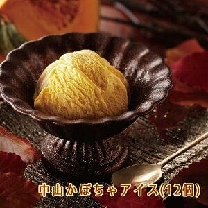 中山かぼちゃアイス(12個) 栃木ご当地アイス お土産 送料無料