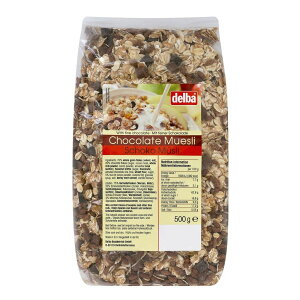 delba(デルバ) チョコレートミューズリー 500g×12個セット (送料無料) 直送