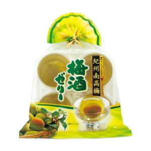 金澤兼六製菓 ギフト 紀州南高梅 梅酒ゼリー 4個入巾着×12セット KUN-4 (送料無料) 直送