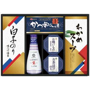 キッコーマン生しょうゆ&白子のり食卓詰合せ KSC-25 7060-054 (送料無料)