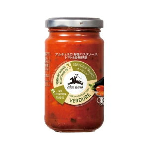 アルチェネロ 有機パスタソース トマト&香味野菜 200g 12個セット C3-25 (送料無料) 直送