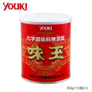 YOUKI ユウキ食品 化学調味料無添加味玉 850g×12個入り 212114 (送料無料)