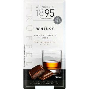 ワインリッヒ ウイスキー チョコレート 100g 120セット (送料無料) 直送