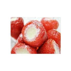 【送料無料】練乳いちごアイス(10粒)まるごと 苺 アイス イチゴ デザート ギフト 贈答 プレゼント バレンタイン ホワイトデー 父の日 プレゼント【代引、同梱不可】