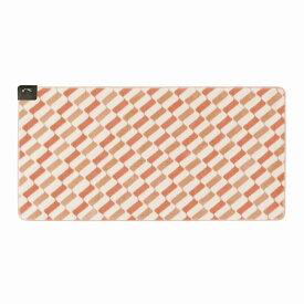 【訳あり※】 広電(KODEN) ホットカーペット 一体型 1畳 オレンジ カバーいらず ふかふか 省エネ スライド温度調節 88×176cm CWC1003-PC