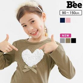 ba7cdf50a72fc 韓国子供服 韓国子ども服 韓国こども服 Bee カジュアル ナチュラル キッズ 女の子 ハート プル