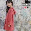 韓国子供服 韓国子ども服 韓国こども服 Bee 女の子 カジュアル ナチュラル キッズ 女の子 ワンピース ワンピ パーカー…