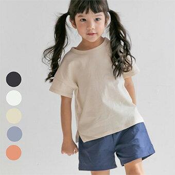 再値下げ・SUMMER SALE・シンプル・半袖・Tシャツ・5color・90cm・100c・110cm・120cm・130cm・子供時代