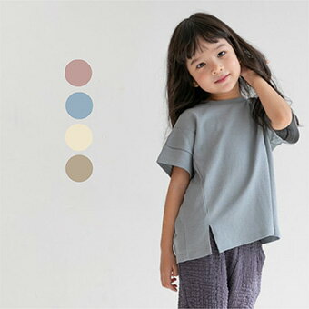 再値下げ・SUMMER SALE・ライン・半袖・Tシャツ・4color・90cm・100c・110cm・120cm・130cm・子供時代