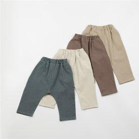 スーパーSALE・コットン・バギー・パンツ・オリジナル商品・4color・90cm・100cm・110cm・120cm・130cm・キッズ・女の子・男の子・シンプル・無地・韓国子供服・子供時代