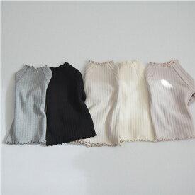 アイレット・ハーフ・タートルネック・オリジナル商品・長袖・Tシャツ・5color・90cm・100c・110cm・120cm・130cm・子供時代