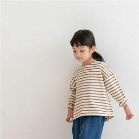 ボーダー・長袖・Tシャツ・オリジナル商品・5color・90cm・100c・110cm・120cm・130cm・子供時代