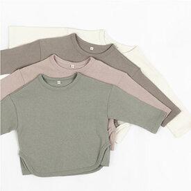 スーパーSALE・NEW・三角・長袖・Tシャツ・4color・90cm・100c・110cm・120cm・130cm・子供時代