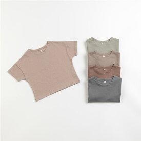 スーパーSALE・5分袖・半袖・Tシャツ・5color・90cm・100cm・110cm・120cm・130cm・キッズ・女の子・男の子・シンプル・無地・韓国子供服・子供時代