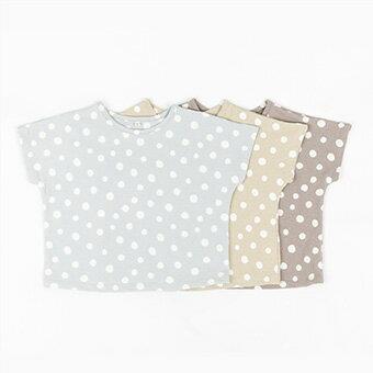 新着ポイント5倍・NEW・ドット・半袖・Tシャツ・3color・90cm・100c・110cm・120cm・130cm・子供時代