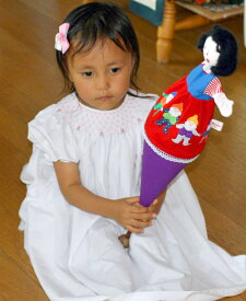 布おもちゃパペットステックコーンパペット白雪姫童話の世界人形劇幼児教育選んで!!無料ギフトラッピング