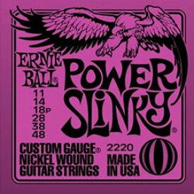 ERNIE BALL #2220 Power Slinky エレキギター弦【送料無料】【smtb-tk】