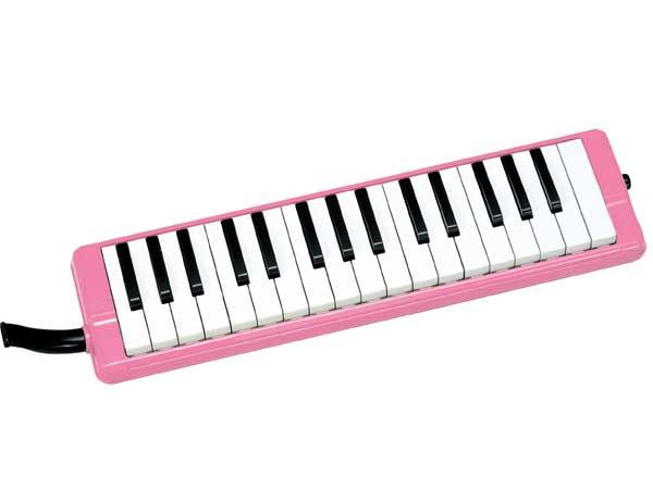【かいめいシールプレゼント!】全音 ゼンオン ピアニー 323AH ピンク (本体・卓奏歌口・立奏歌口・ハードケースのセット)【鍵盤ハーモニカ】02P03Dec16