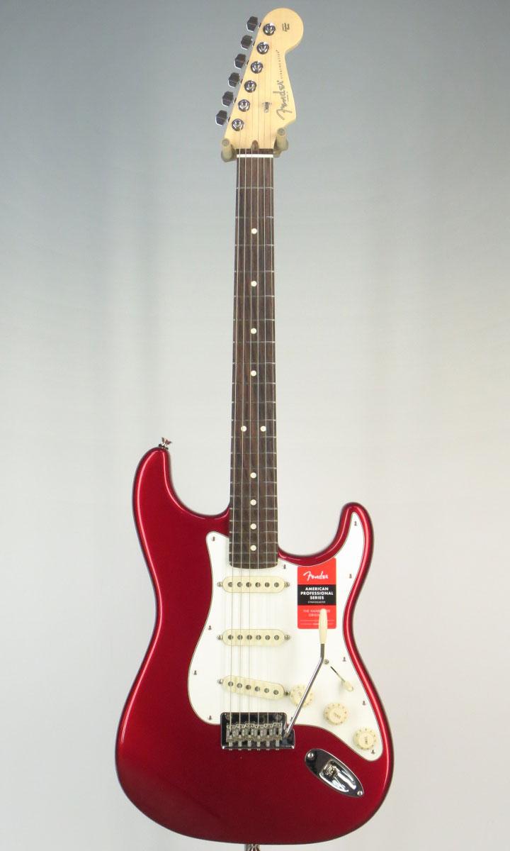 【New】Fender USA American Professional Stratocaster RW CAR(selected by KOEIDO)店長厳選、生きた別格の最新プロフェッショナル!
