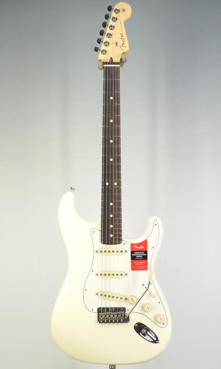 【スマホエントリーでポイント10倍】Fender USA American Professional Stratocaster OWH/R(selected by KOEIDO)店長厳選、生きた別格の最新プロフェッショナル!