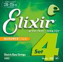 Elixir Bass Strings Medium #14102【送料無料】【定形外郵便発送】