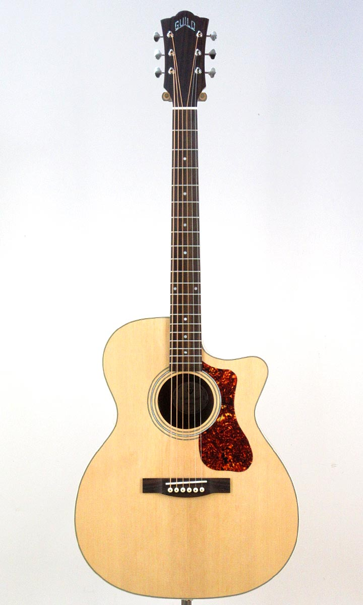 GUILD Westerly Collection OM-240CE NAT【スペア弦プレゼント&レビュー特典付き!】【送料無料】