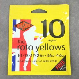 ROTO SOUND R10 Roto Yellows Regular エレキギター弦【送料無料】【smtb-tk】