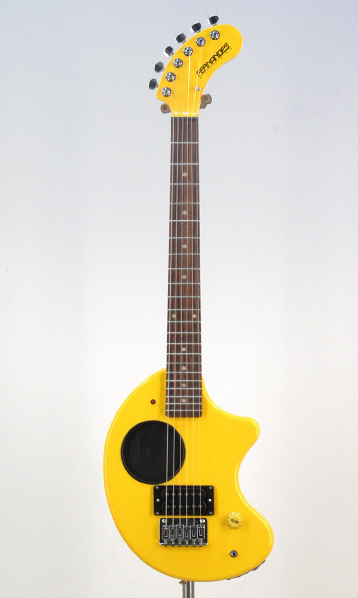Fernandes ZO-3 Yellow【送料無料!】スペア弦&ストラップサービス!【smtb-tk】