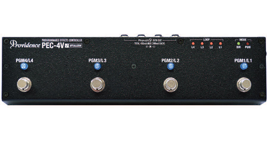 Providence PEC-4V PROGRAMMABLE EFFECTS CONTROLLER【送料無料】