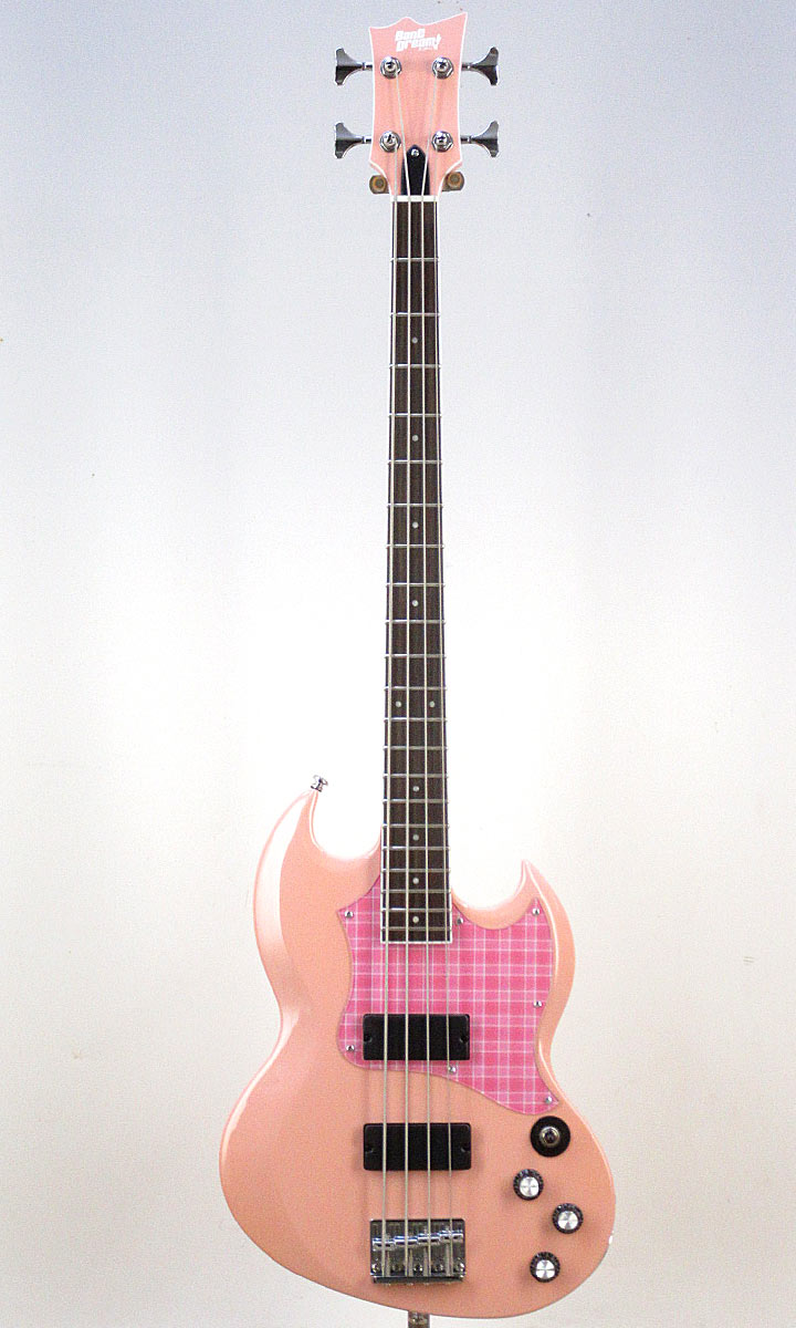 BanG Dream! ESP×バンドリ! Collaboration Series Rimi Ushigome Signature Model BanG Dream! VIPER BASS Rimi (Rimi Pink)【2019年4〜5月入荷予定・ご予約受付中!】
