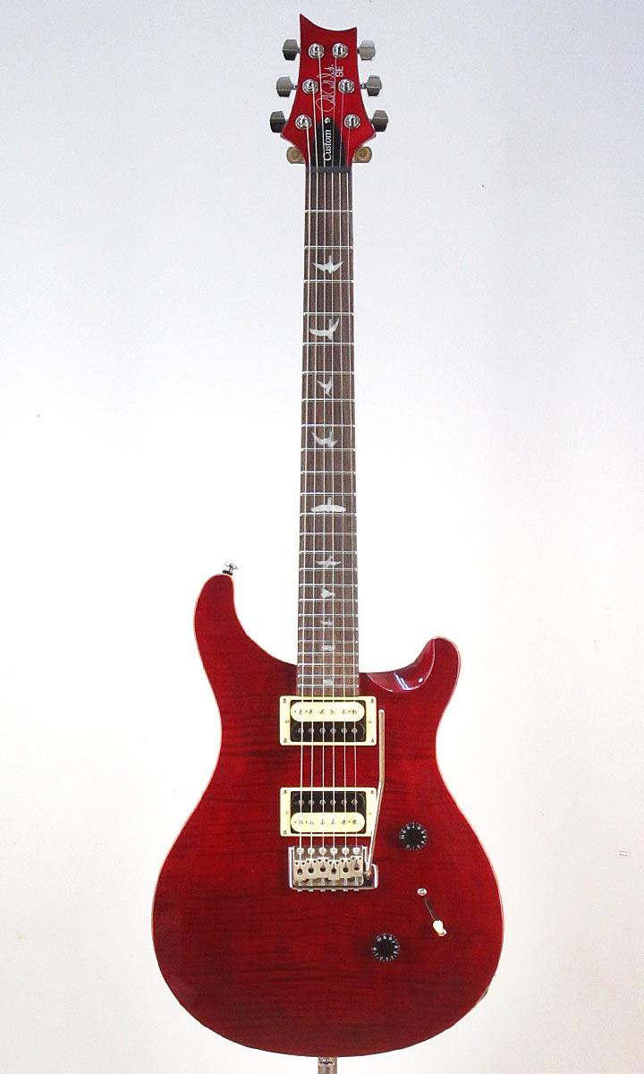 Paul Reed Smith SE Custom 24 N SR(Scarlet Red)【レビュー特典付き!】【送料無料】