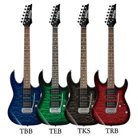Ibanez GRX70QA エレキギター入門セット アクセサリーキット付き入門用セット ギター エレキギター 初心者セット【レビュー特典付き】【ギター通販】【最適調整済み】