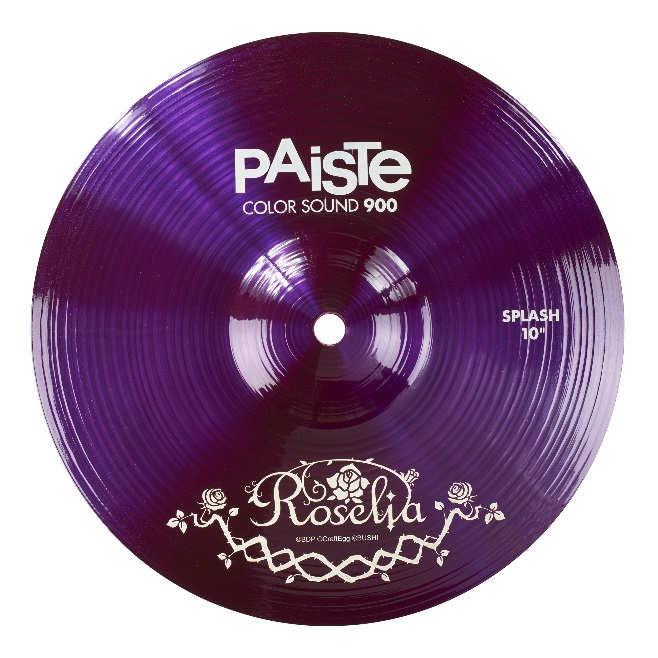 PAISTE 900 SP10 Roselia [BanG Dream!Roselia コラボレーション・スプラッシュシンバル] 【2018年5月頃入荷予定・ご予約受付中!】