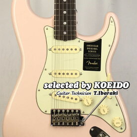 【New】Fender American Original '60s Stratocaster Shell Pink(selected by KOEIDO)フェンダー 光栄堂