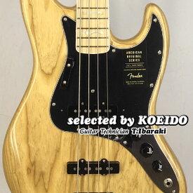 【New】Fender USA American Original '70 Jazz Bass NAT(selected by KOEIDO)店長厳選70sJB!別格のレスポンス!フェンダー 光栄堂
