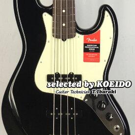 【New】Fender USA American Professional Jazz Bass BLK/R(selected by KOEIDO)店長厳選!別格の生きたジャズべース!フェンダー 光栄堂
