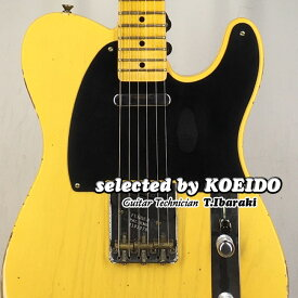 【New】Fender Custom Shop 52 Telecaster Relic ANBL (selected by KOEIDO)店長厳選、命を持った別格の52テレキャスター!フェンダー 光栄堂