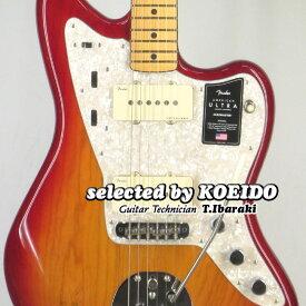 【New】Fender American Ultra Jazzmaster MN Plasma Red Burst(selected by KOEIDO)店長厳選!別格の最新ウルトラ!【オリジナルケアセットプレゼント!】フェンダー 光栄堂