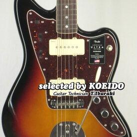【New】Fender American Ultra Jazzmaster RW Ultra Burst(selected by KOEIDO)店長厳選!別格の最新ウルトラ!【オリジナルケアセットプレゼント!】フェンダー 光栄堂