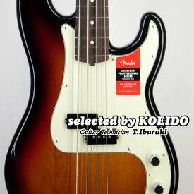 Fender フェンダー USA American Professional Precision Bass RW 3TS(selected by KOEIDO)店長厳選、命を持つ別格の一本!フェンダー 光栄堂