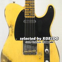 【New】FenderUSACustomShop54TelecasterHeavyRelicANBL2019(selectedbyKOEIDO)店長厳選、命を持った最新スペック52テレ!